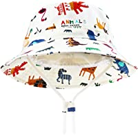 DRESHOW Unisexo Bebé Niña Niño Sombrero de Sol Verano Algodón Ajustable Pescador Gorra Protección de Sol Anti UV Para…