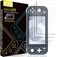 Screen Protector for Nintendo Switch Lite - 2019 Model [4 Pack] Tempered Glass Screen Protectors [No Bubbles Easy…