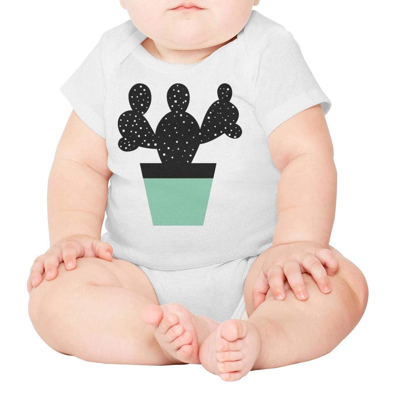 Godfer Arabe.Unisex Short Sleeve Cactus Baby Onesies Bodysuit Jumpsuit