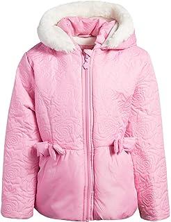 "NEW /""ZEBRA Pink Ruffle/"" Coat Jacket /& Hat Girls 5 Fall Winter Clothes Kids Set"