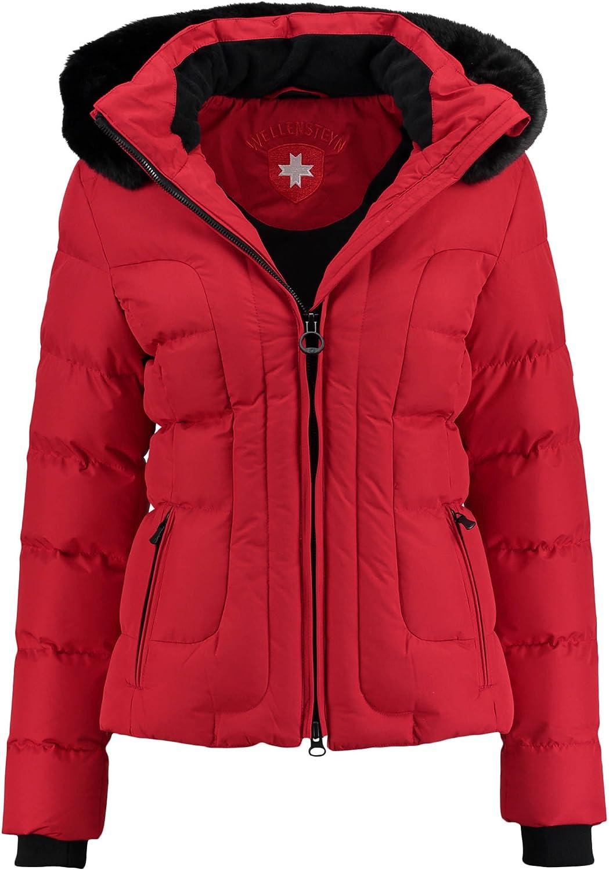 rote wellensteyn jacke für damen