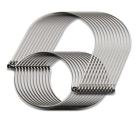 Amazon.com: Mason - Perchas de alambre de acero inoxidable ...
