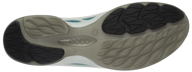 ECCO Women's Biom Fjuel Racer Cross Trainer B01EKLR47Q 37 EU/6-6.5 M US|Capri Breeze/Aquatic/Rose Dust