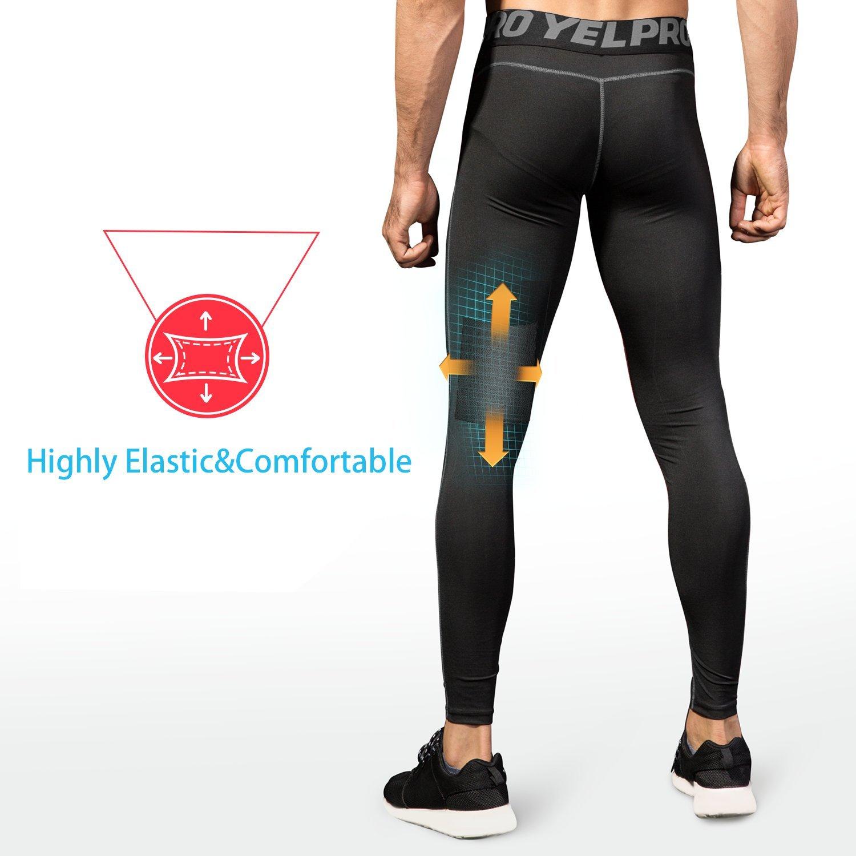 Niksa 3 Piezas Conjunto Camiseta Compresión Ropa Deportiva Hombre  Pantalones Cortos y Leggings y Tops Apretada ... 32334d04477ef