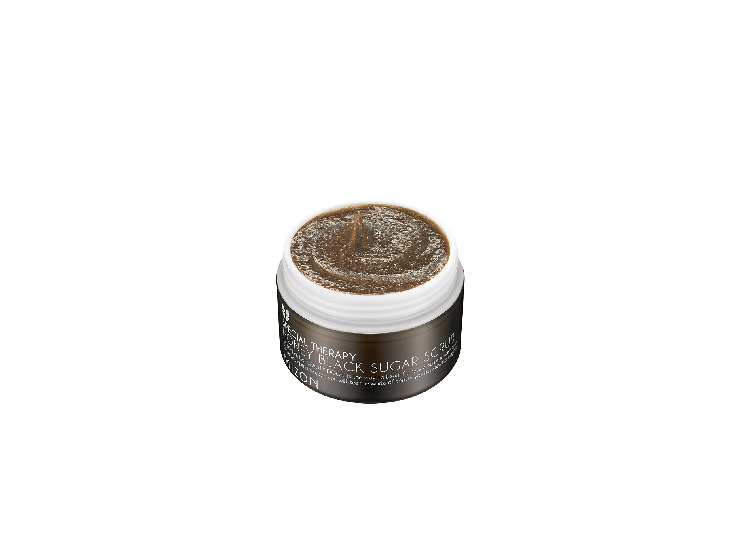 Mizon Honey Black Sugar Scrub, Brown Sugar Facial Scrub, Face Scrub & Efoliating, Black Head and White Head Care with Natural Brown Sugar Powder, Moisturizing, Soft Skin, Removes Dead Skin Cells, 80g