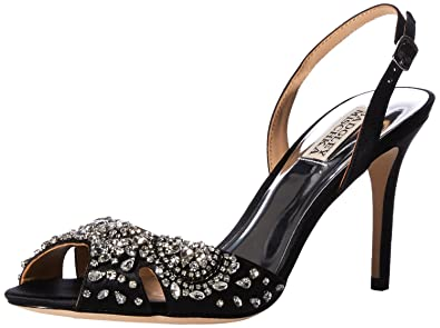 1594c89e7d1 Amazon.com  Badgley Mischka Women s Paula Heeled Sandal  Shoes
