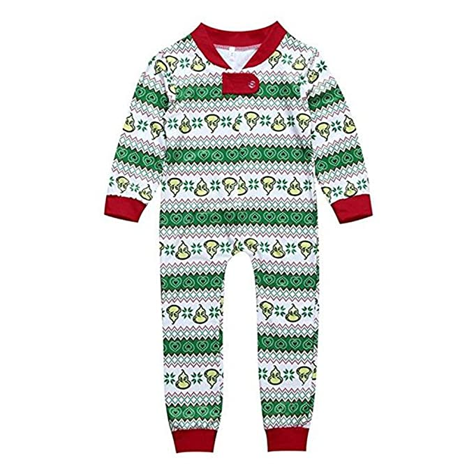 Ropa de dormir de Navidad MEIHAOWEI Baby Kids Mom Dad Nightwear Pijamas: Amazon.es: Ropa y accesorios