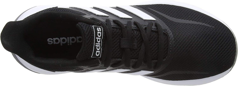 adidas Damen Runfalcon Traillaufschuhe Schwarz (Core Black/Footwear White/Grey 0)