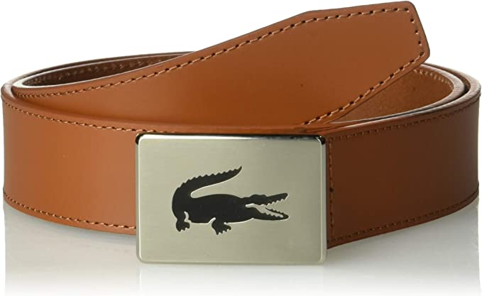 Lacoste 法国鳄鱼 经典大标 男式皮带 腰带 3.5折$23.13 海淘转运到手约¥181