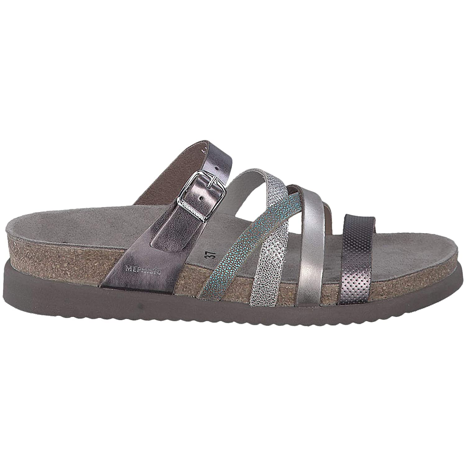 2a25b4a7f31 Amazon.com   Mephisto Womens Huleda Leather Open Toe Casual Slide Sandals    Sandals