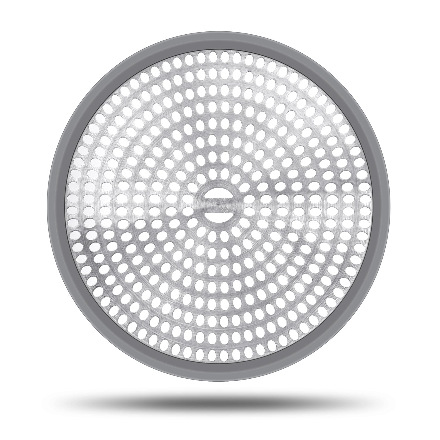 LEKEYE Shower Drain Hair Catcher//Strainer//Stainless Steel and Silicone