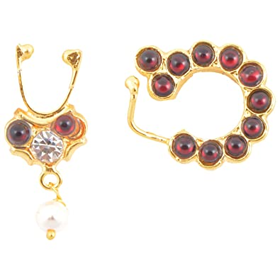 com plated online indiatrendshop faux necklace pin fashion simulated set sakeena and pinterest by jewellery studded pearl kundan gold with beads purchase