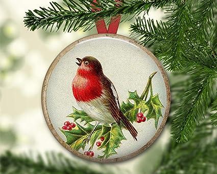 Amazon.com: hanjear59 Holiday Ornament Gifts Christmas Bird ...