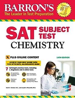 Amazon com: Barron's SAT Subject Test: Math Level 2 with
