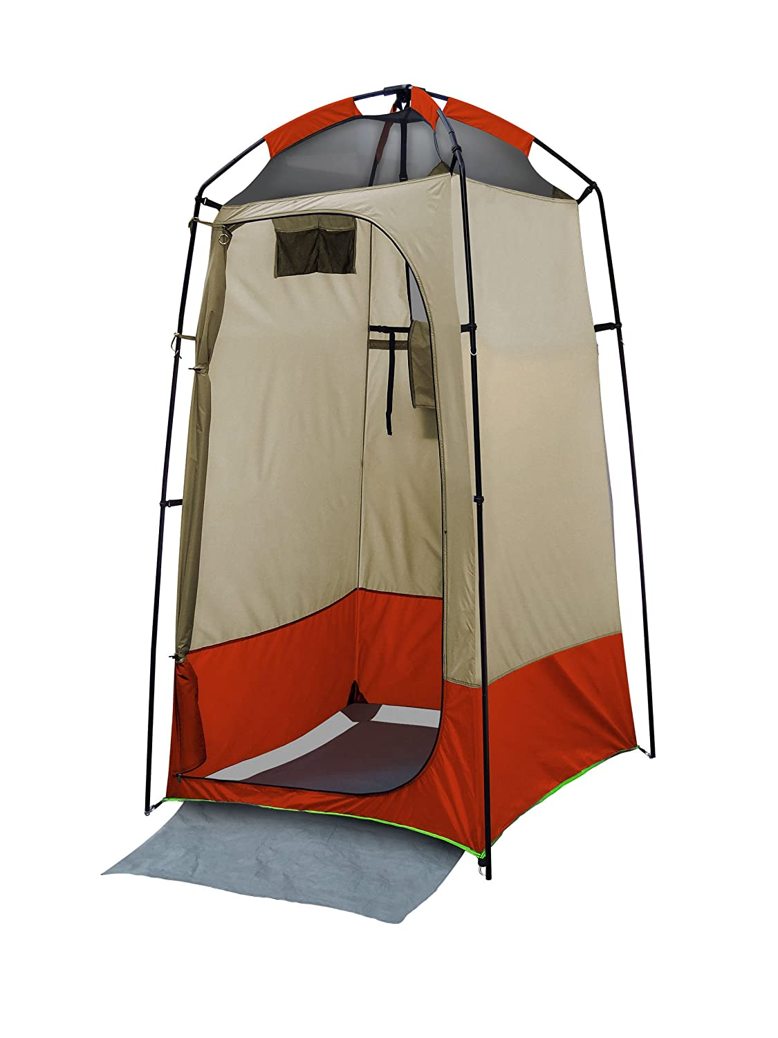 Amazon.com  Stinky Pete 1 Person Deluxe Shower/Toilet/Changing Room Tent  Sports u0026 Outdoors  sc 1 st  Amazon.com & Amazon.com : Stinky Pete 1 Person Deluxe Shower/Toilet/Changing ...