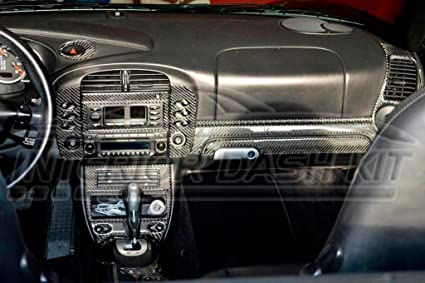 Image Unavailable. Image not available for. Color: PORSCHE BOXSTER 996 TURBO INTERIOR REAL CARBON ...