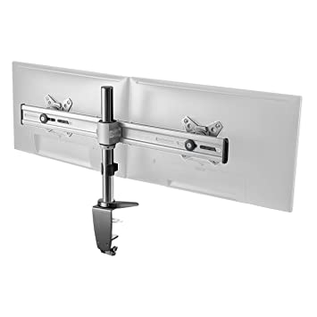 RICOO Soporte para Pantalla PC LED Monitor TS3611 Soporte de Mesa para 2 monitores Soporte Monitor Elemento de fijación para Monitor TFT Brazo ...