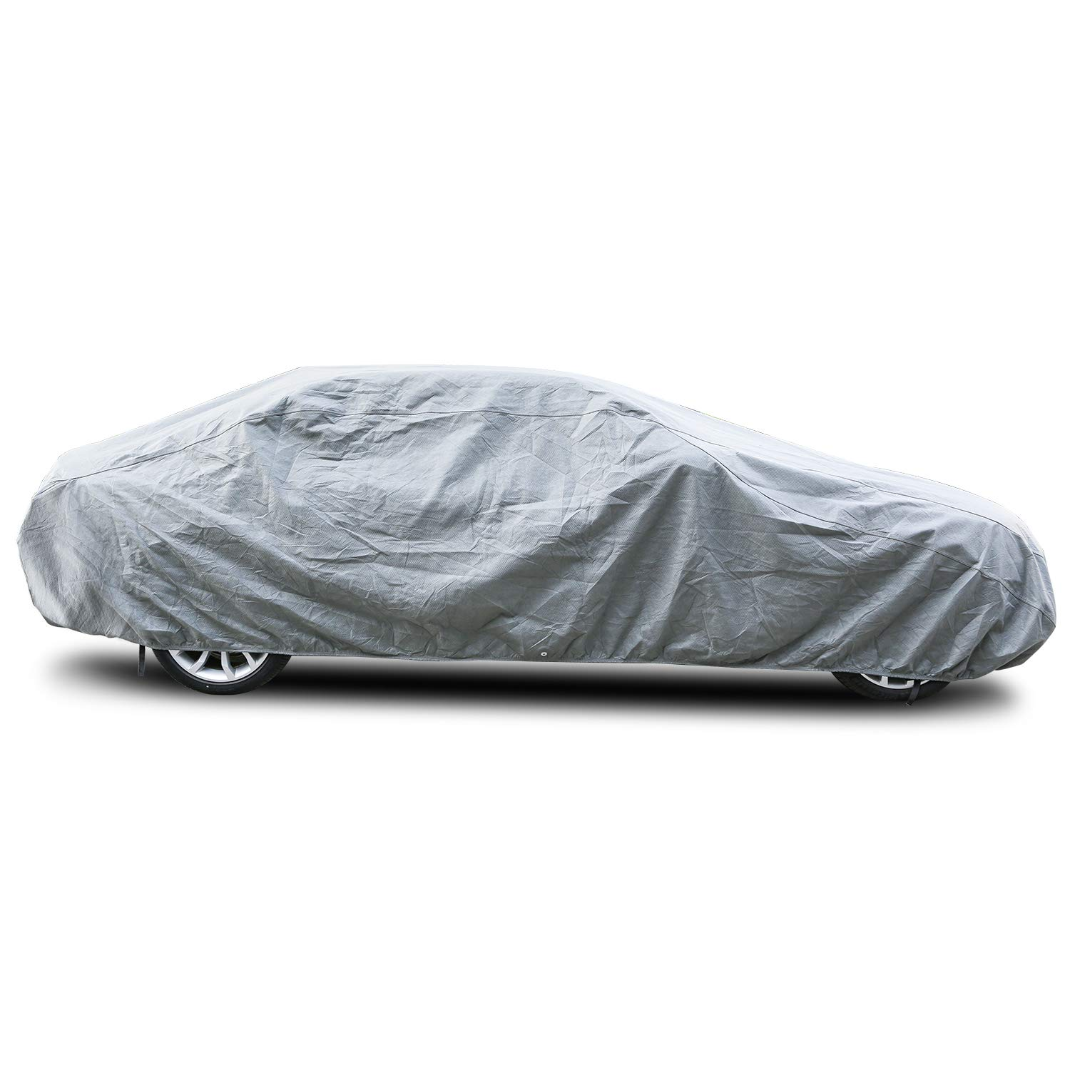 Arch Motoring Car Cover Fit Full Car Up to 200 3 Layer Dustproof Windproof Breathable Car Covers for Automobiles