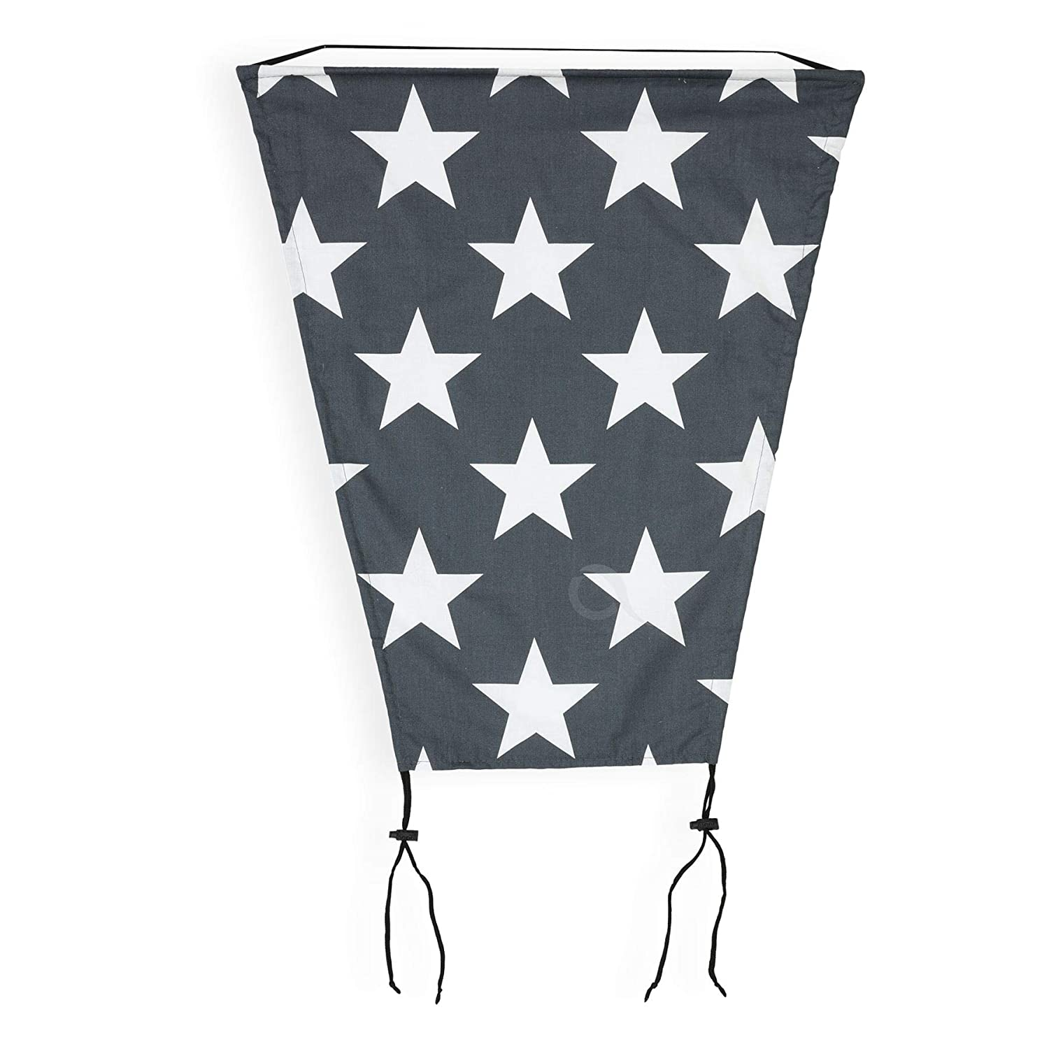 OLOBABY Sun Shade with UV Protection Universal Baby Sun Sail for Pram Buggy Stroller Pink /& Grey Triangles Pushchair