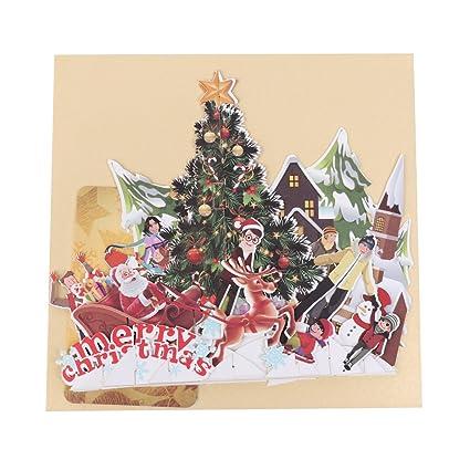 Biglietti Di Natale Di Carta.Jagenie Festa Del Papa Festa Della Mamma Carta Carta 3d Pop Up 3d