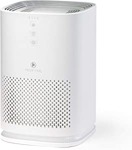 Medify MA-14 Medical Grade Filtration H13 HEPA Air Purifier for 200 Sq. Ft. (99.97%) Allergies, dust, Pollen, Perfect for Office, bedrooms, dorms and Nurseries - White