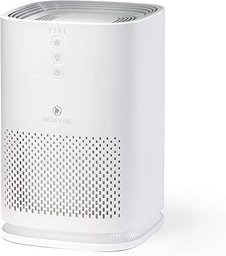 Medify MA-14 Medical Grade Filtration H13 HEPA Air Purifier for 200 Sq. Ft. 99.97 Allergies, dust, Pollen, Perfect for Office, bedrooms, dorms and Nurseries