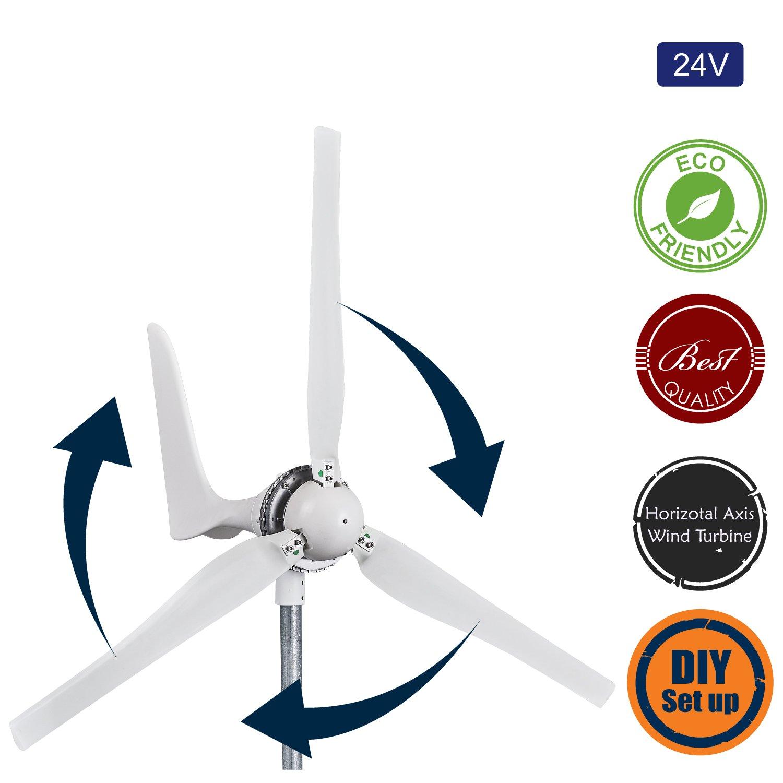 Amazon Automaxx Windmill 1200W 24V 42A Wind Turbine Generator
