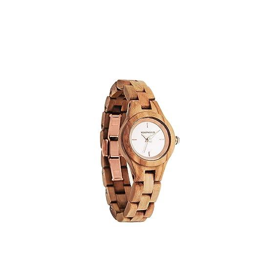 Madera Reloj mujer | Blossom | Relojes de madera natural | la Wood Watch Relojes de
