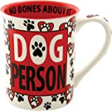 Enesco 4.5-Inch Our Name is Mud Mug by Lorrie Veasey, 16-Ounce, Dog Person