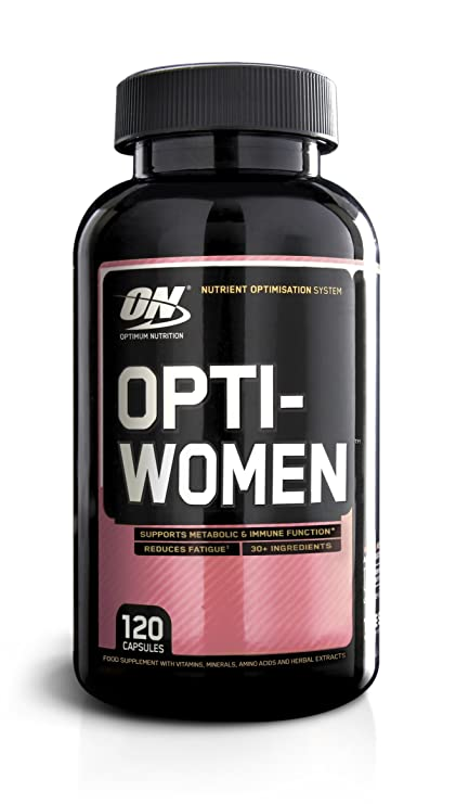 Optimum Nutrition Opti-Women Multivitamínico - 120 Cápsulas