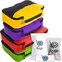 bago Packing Cubes for Travel Bags - Luggage Organizer 10pcs Set in 12 Colors