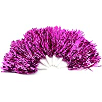 Pompones de porristas de 6 piezas, pompones duraderos y ligeros alegran la belleza de los escuadrones, jugadores…