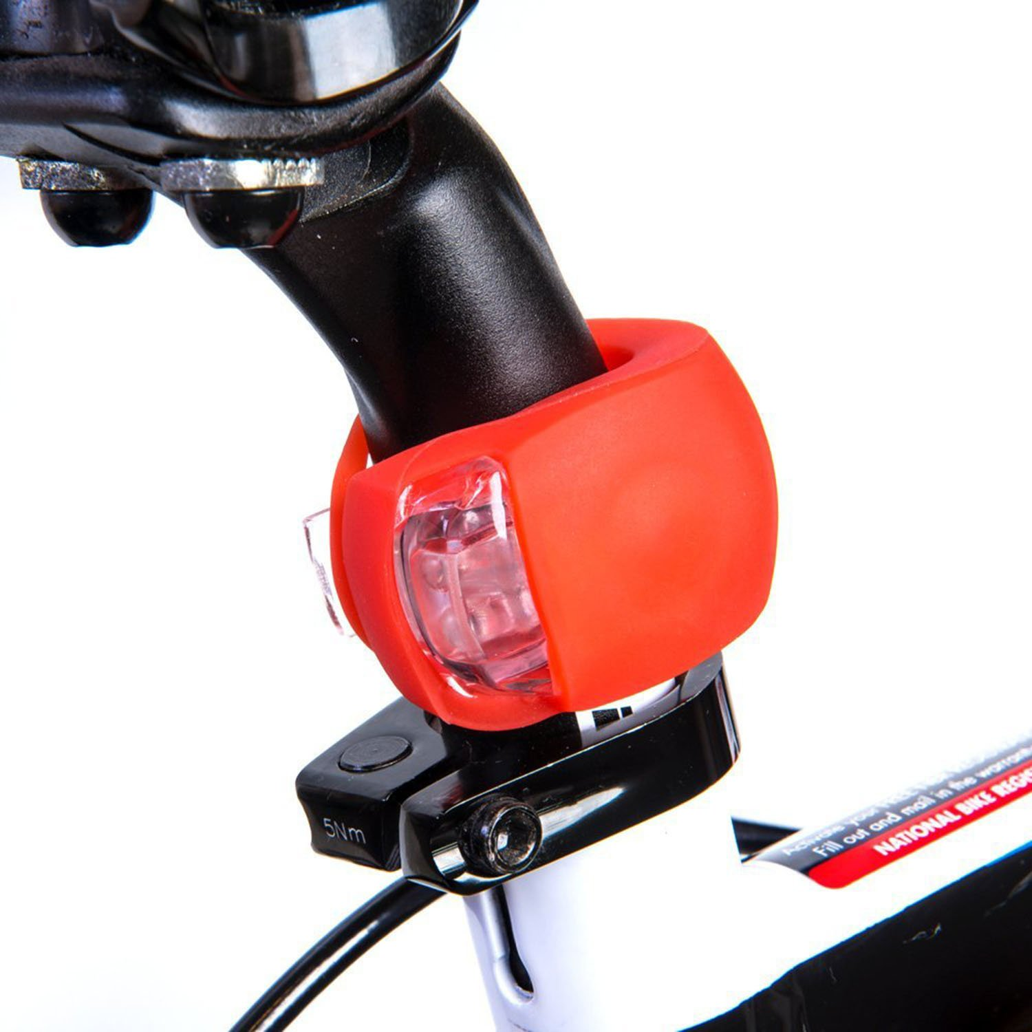 HeroBeam Bike Lights Double Set - The Ultimate Lighting and Safety Pack of Super Bright Front Bicycle Lights, Tail Lights and Wheel Lights - 5 Year Warranty by HeroBeam (Image #4)
