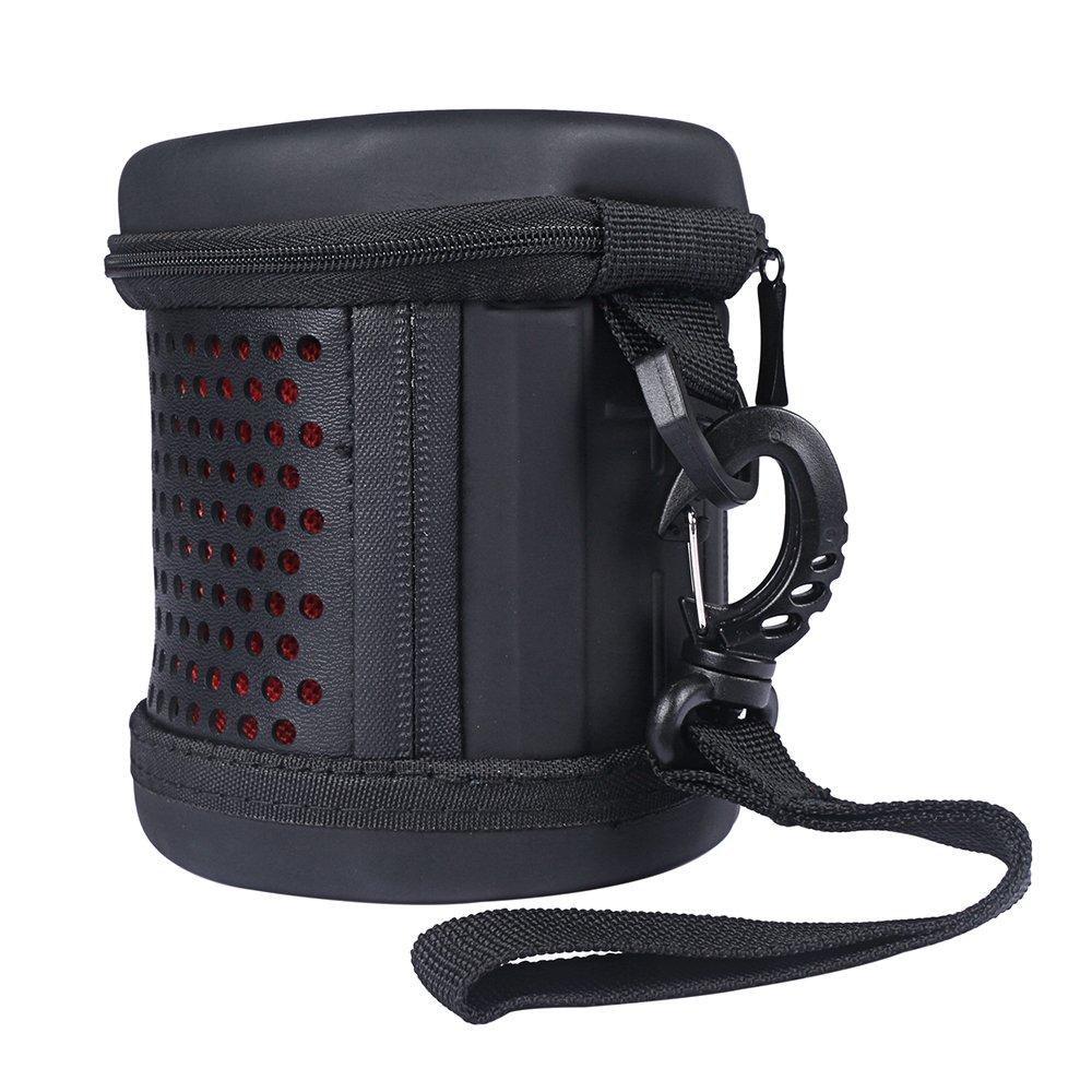 LuckyNV 2018 EVA PU de Cuero Carry Zipper Sleeve Estuche Protector de Tapa Dura port/átil para Ultimate Ears UE WONDERBOOM Altavoz Bluetooth
