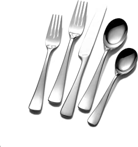Mikasa Serena 20-Piece Stainless Steel Flatware Set, Service for 4