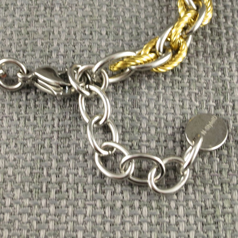 Women's Medical Alert ID Bracelet | New Adjustable Size | Free Engraving Included | Pegasus | Gold | Fits Wrists 5.75'' - 8''