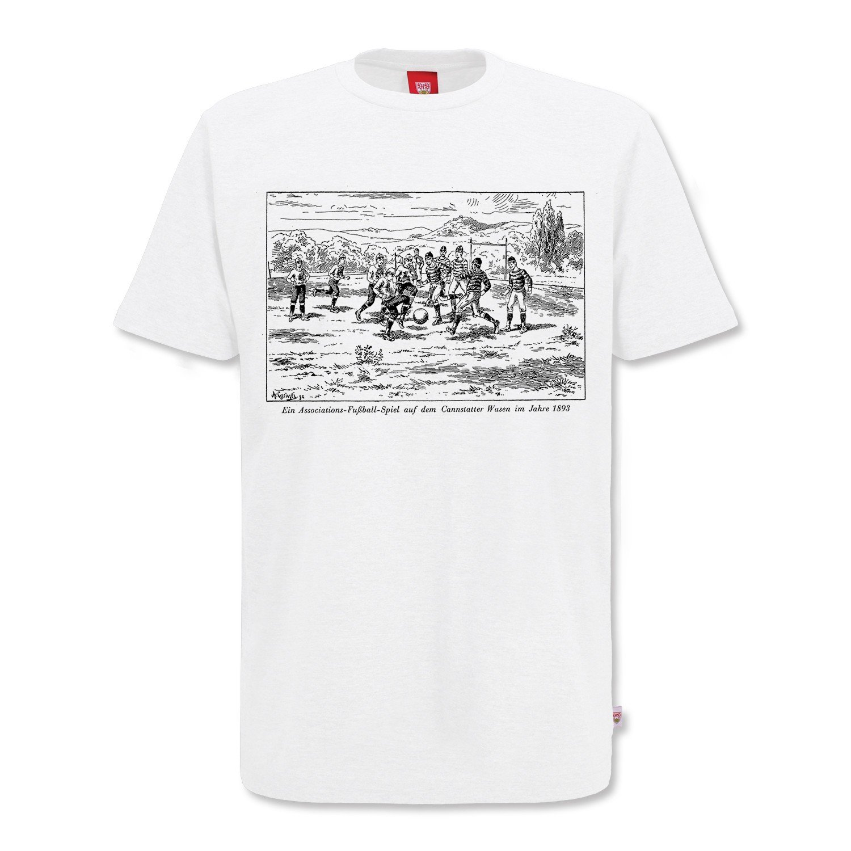 VfB Stuttgart Asscociations Fussball T-Shirt