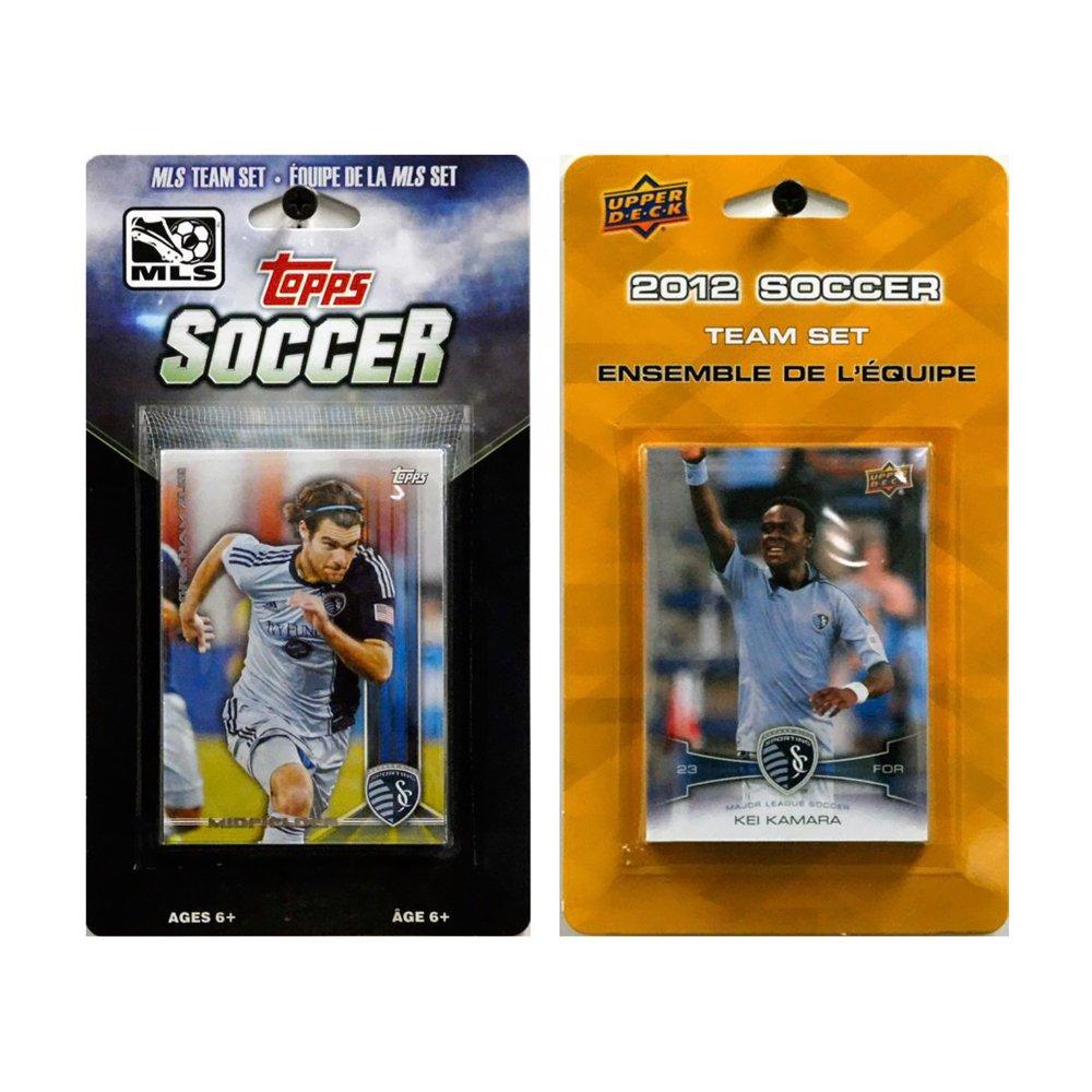 MLS Sporting Kansas City 2異なるLicensed Tradingチームカードセット   B00ED58P4G