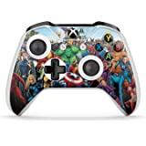 GNG 2 x Marvel Xbox One S Controller Skins Full Wrap Vinyl Sticker