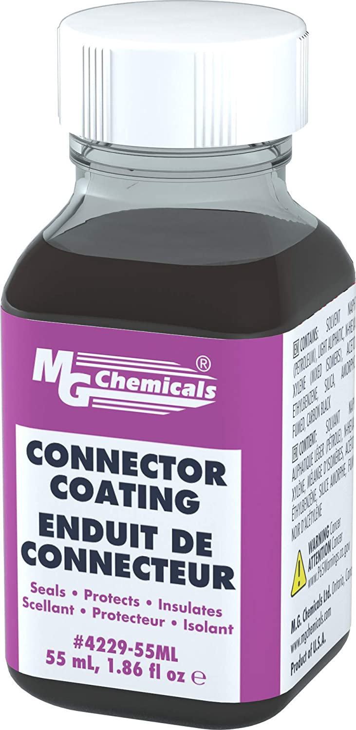 MG Chemicals 4229-55ML Connector Coating, 55 ml Bottle