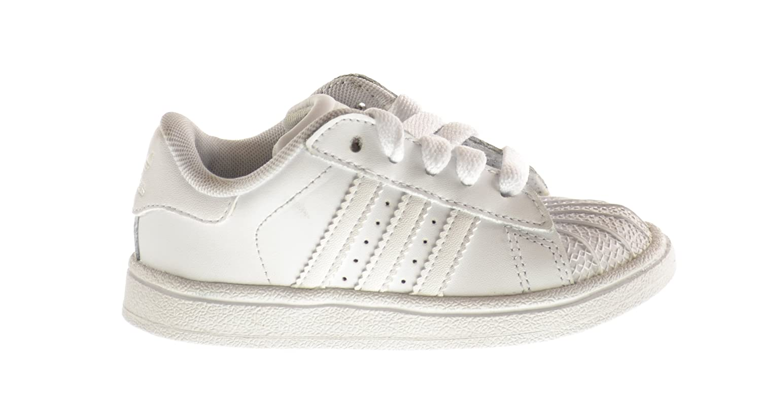 save off 4f9ce ff15d Amazon.com   Adidas Superstar II 2 Infant Shoes Run White Run White 901038  (6 M US)   Sneakers
