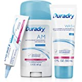Duradry 3-Step Protection System - Prescription Strength Antiperspirant Deodorants Specially Formulated For Excessive…