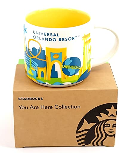 Starbucks You Are Here Collection Universal Studios Orlando 14 Ounce Mug