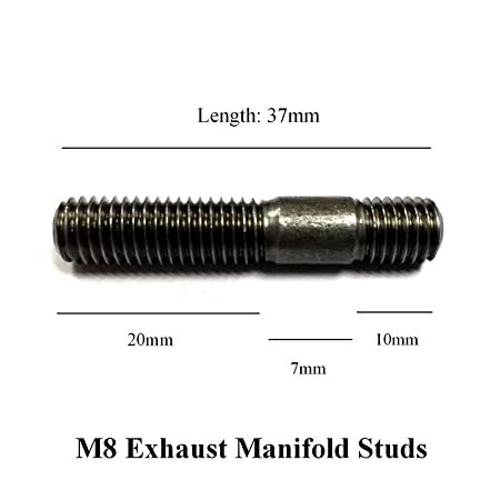 M8 x 45mm Manifold Stud Pack of 5