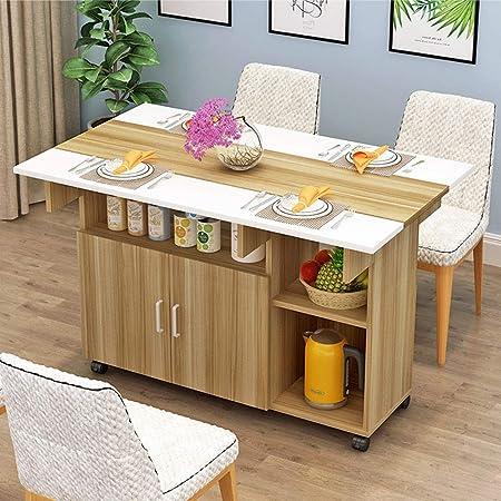Chlyuan Hm Table A Manger Extensible Simple Menage 4 Personnes