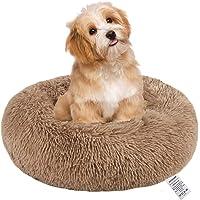 Thanaddo - Cama para perros y gatos de 50,8 cm, 71,1 cm, forma de dona de felpa para perros grandes, medianos y pequeños…