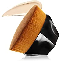 (Foundation) - Foundation Makeup Brush Flat Top Kabuki Hexagon Face Blush Liquid Powder Foundation Brush for Blending…