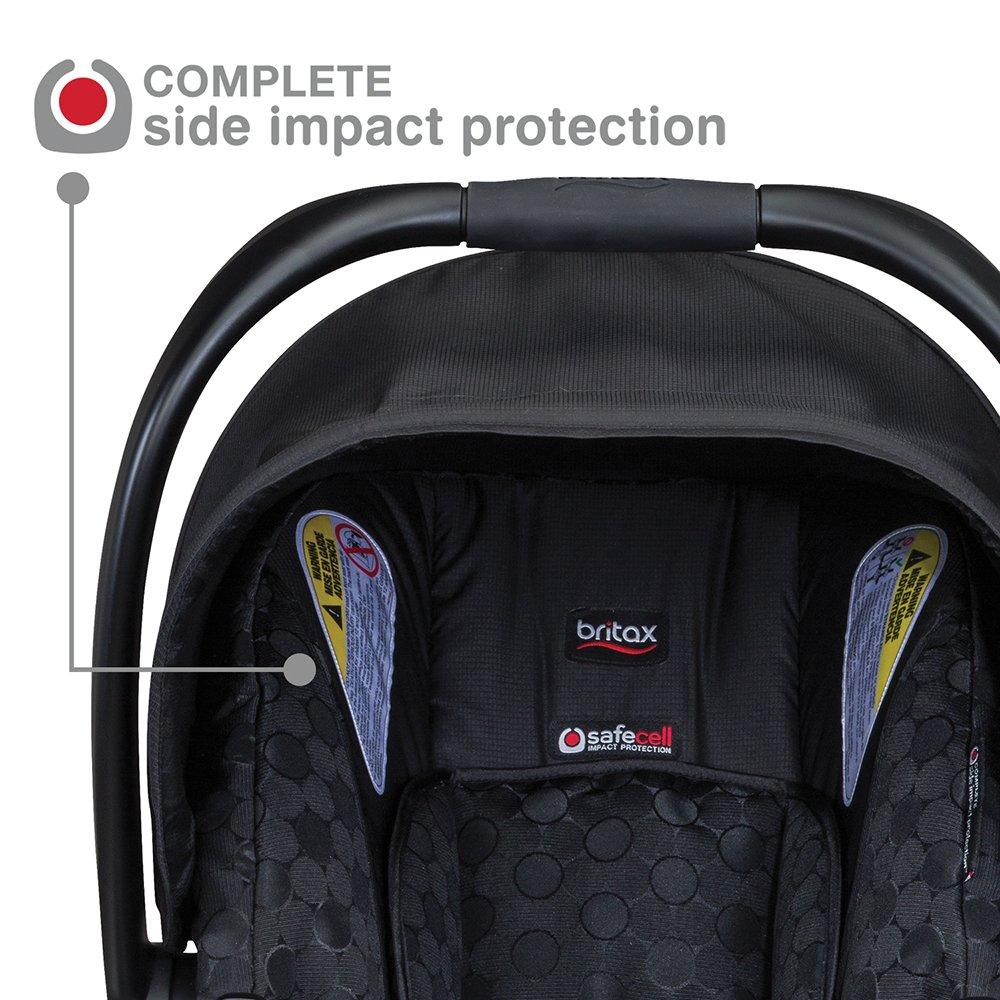 Amazon.com : Britax B-Safe 35 Infant Car Seat, Black : Baby