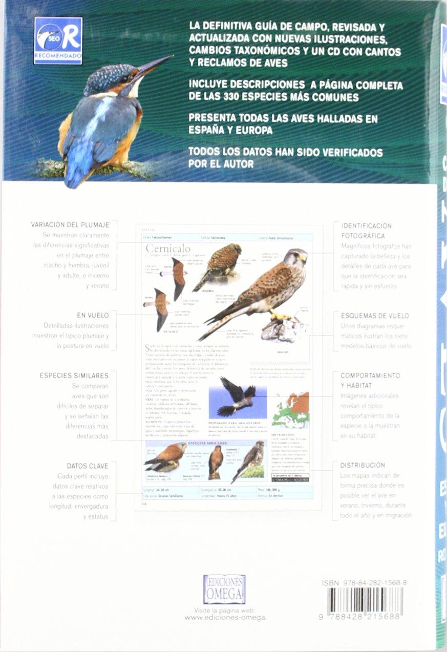 GUIA CAMPO AVES ESPAÑA Y EUROPA/ 3ª ED. GUIAS DEL NATURALISTA-AVES: Amazon.es: HUME, R.: Libros