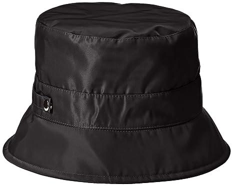 San Diego Hat Company Women s Nylon Rain Bucket Hat with Functional  Closure 15971a6f2b3